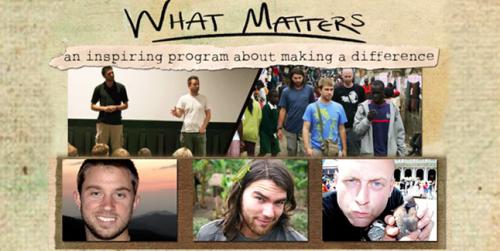 What Matters? / Dan Parris, David Peterka, Rob Lehr