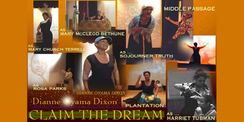 Claim The Dream – An Inspiring One-Woman Historical Drama with Dianne Dixon